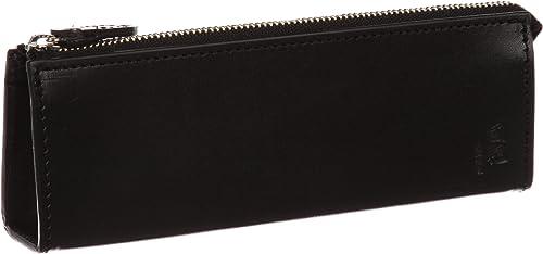 KOKUHO] fabriqué au Japon Cuir Fin Pit lisse Utilisation Triangle pour stylo 2281BL (Noir) [Parallel importation à partir du Japon]