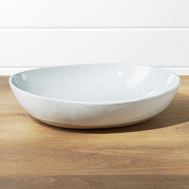 Welcome Large Serve Bowl | Crate and Barrel