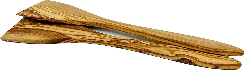 Lot de 2 spatules en bois dolivier 30,5 cm 2 pi/èces