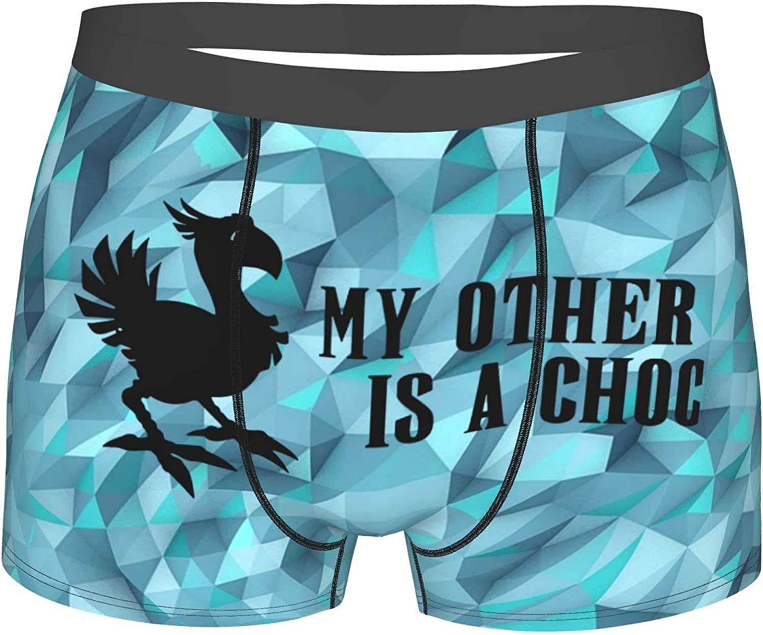 My Other Ride Is A Chocobo Boxers Men Boys' Lightweight Micro Stretch Boxers
