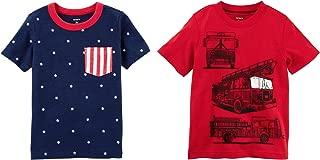 Carter's Boys Tshirt - Set of 2 Cotton tee Shirts