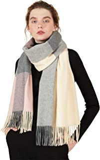 STORY OF SHANGHAI Winter Womens Wool Scarf Extra Large 78