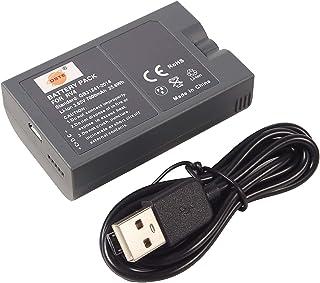 DSTE Ricambio Batteria e Cavo di ricarica Compatibile per Ring Video Doorbell,Doorbell 2,Doorbell Pro,Doorbell Elite,Ring ...