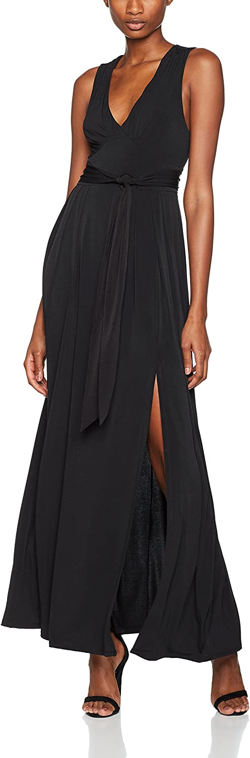 BCBGeneration Womens Belted Gown Dress