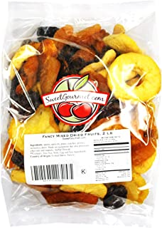 Fancy Mixed Dried Fruits, (2 lb Mixed Fruits)