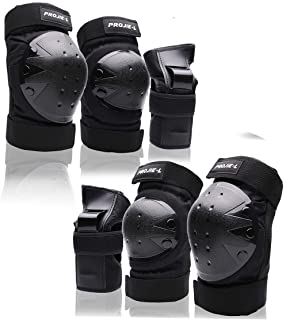 Motorbike Protector Guard Knee Protector Flexible Breathable Adjustable for Motocross Bicycle Skate Skateboard Knee Shin Protection Adult 1 Pair sjapex Adult Motorcycle Knee Pads