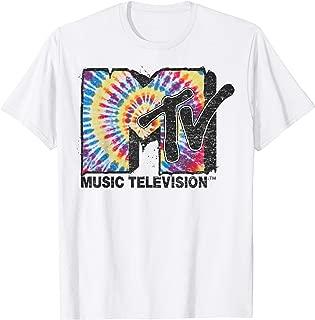 Rainbow Tie Dye Spiral Logo T-Shirt