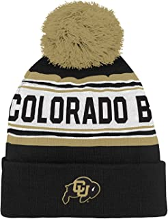 NCAA Colorado Buffaloes Toddler Outerstuff Jacquard Tassel Knit Hat w/ Pom, Team Color , Toddler