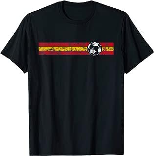 Spain Soccer Flag T-Shirt Championship Football Cup Tee