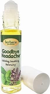 Herbaria Goodbye Headache® all natural soothing application for tension headaches
