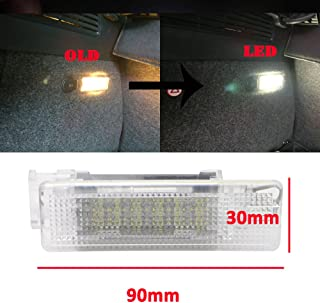 LED Luggage Trunk Lamp Interior Dome Light for Volkswagen VW Ecos Golf MK4 MK5 MK6 Mk7 Jetta Passat B7 B6 CC Scirocco Polo Touran White 18SMD Car Compartment Lamp