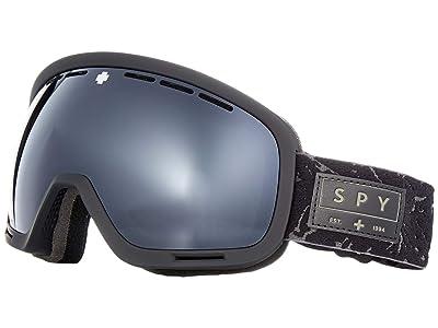 Spy Optic Marshall (Onyx/Gray Green/Black/Persimmon/Silver Spectra Mirror) Snow Goggles