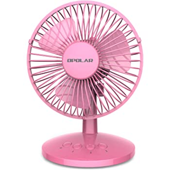 Color : Pink2, Size : 8.62.613cm USB Rechargeable Small Fan USB Desk Fan Handheld Small Fan Portable Small Fan