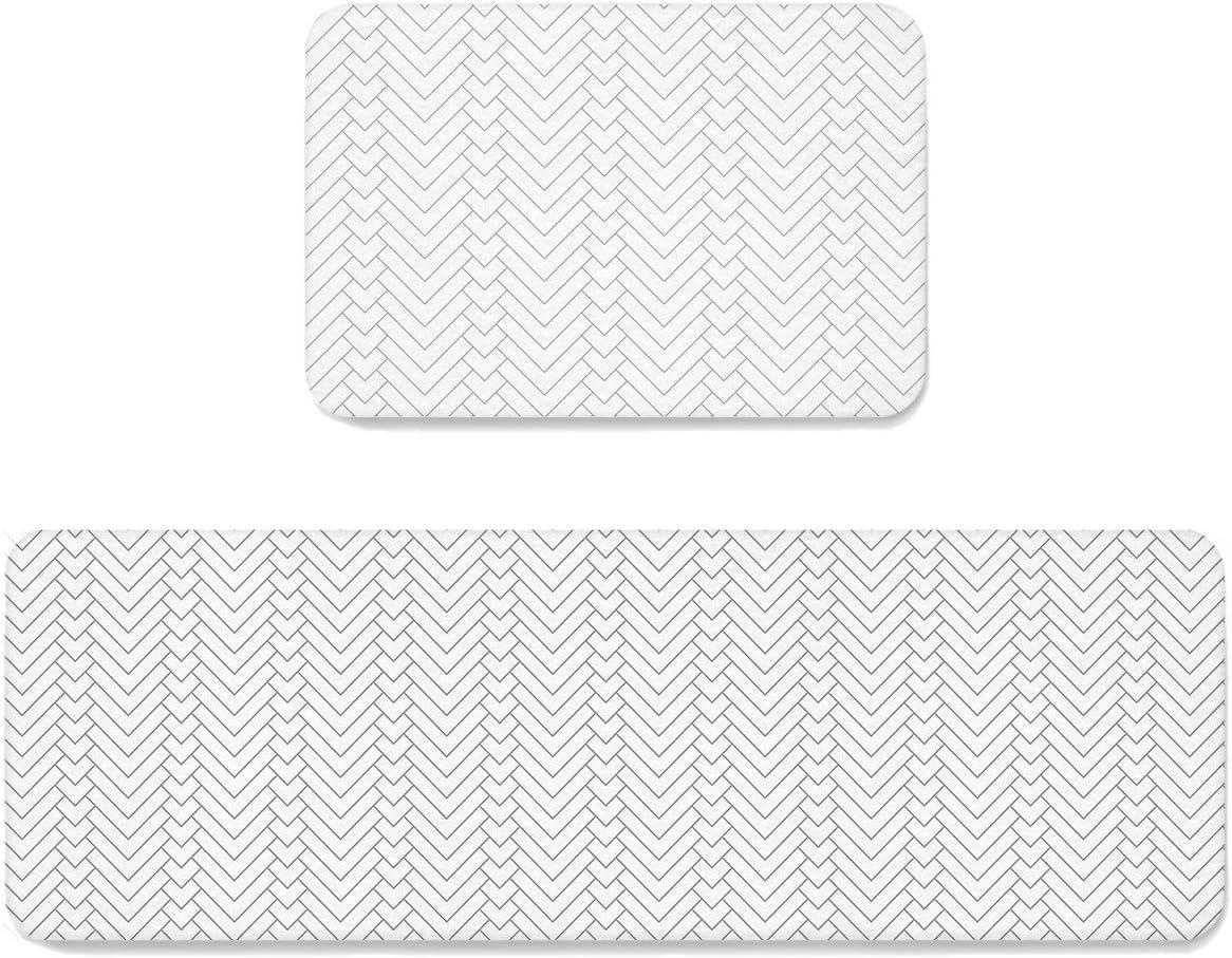 Max 55% OFF SUN-Shine San Diego Mall Geometric Herringbone Stripe Rugs Kitchen Pattern and