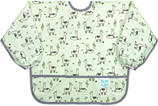 Bumkins Sleeved Bib, Toddler Bib, Smock, Waterproof, Washable, Stain and Odor Resistant,..