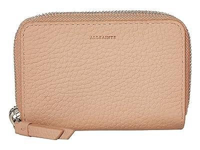 AllSaints Fetch Cardholder (Nude Pink) Handbags