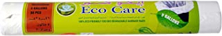 Eco Care White Garbage Bag Roll - 30 Count, 5 Gallons, 46x52cm