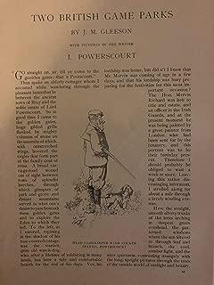 1903 British Game Parks Powerscourt Drummond Castle illustrated