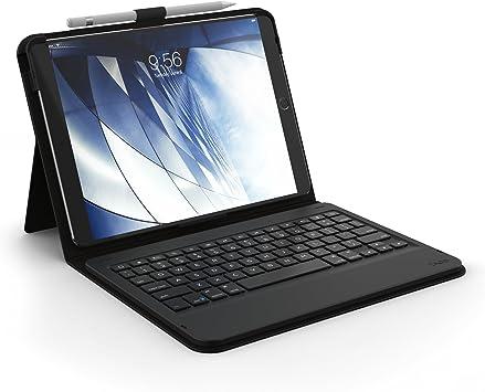 ZAGG ID9BSF-BB0 - Funda tipo libro y teclado Bluetooth no ...