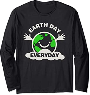 Earth Day Every Day Cool  Long Sleeve T-Shirt