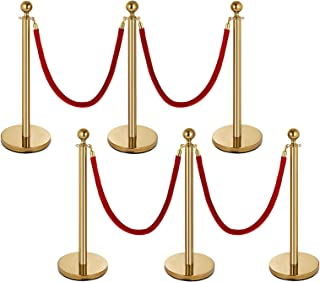 Best rope queue barriers Reviews