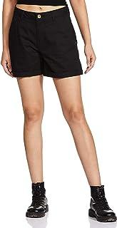 Amazon Brand - Symbol Women's Regular Fit Cotton Shorts
