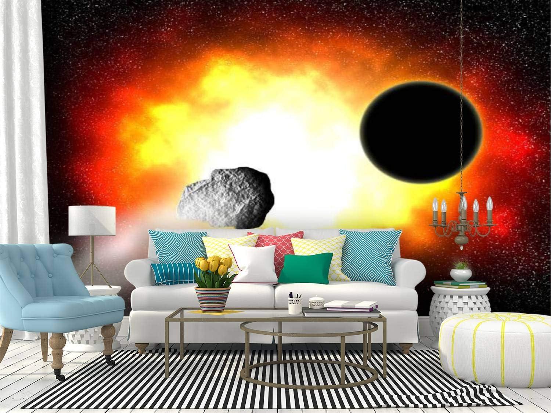 Self Adhesive Wallpaper Roll ブランド買うならブランドオフ 海外 Paper fire hole nebula black stock