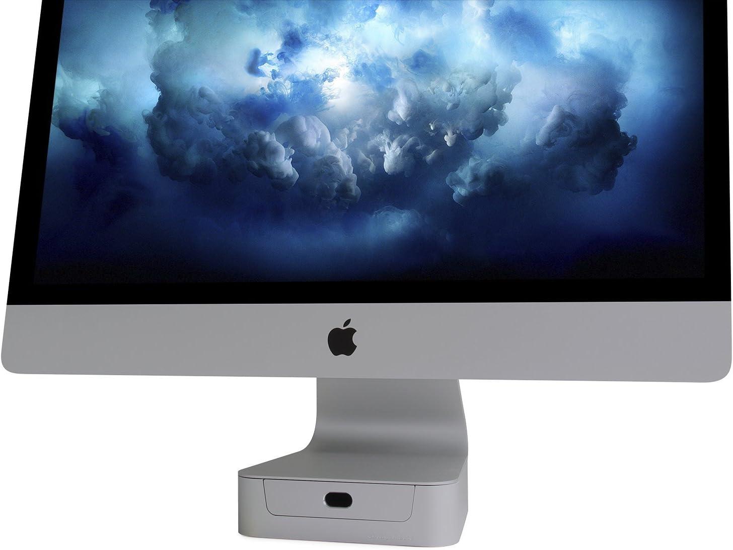 base para monitor imac 27 pulgadas Rain Design Space Gray