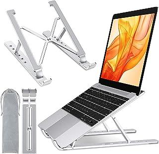 Cocoda Support Ordinateur Portable, Support PC Portable avec 6 Niveaux RéGlables, Pliables Refroidisseur en Aluminium Comp...