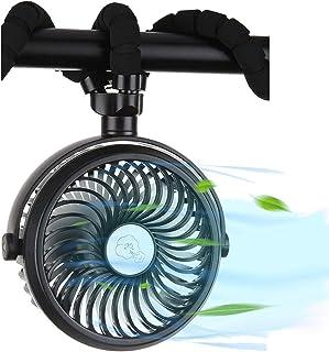SENDOW 携帯扇風機 USB卓上扇風機 卓上 巻き付け 吊り上げ 手持ち扇風機 三脚 LEDライト アウトドア 熱中症対策 暑さ対策 18ヶ月保証