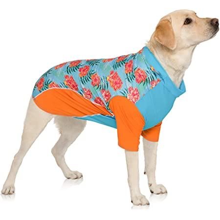 PlayaPup Dog Sun Protective Lightweight Shirts for Female Dogs, UPF 50+