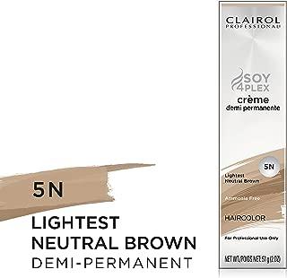 Clairol Crème Demi Permanente, Clairol Pro Crème Demi 5N Neutral Brown
