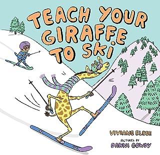 زرافه خود را به اسکی بیاموزید