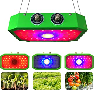 Someday or One Day's Dimmable COB Series 1000W LED Grow Light (Latest Model - No Need to Adjust Use Height)
