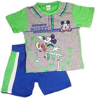 cbda4ced53 ellepi Completo 2pz t-Shirt Maglietta Pantaloncino Disney Mickey