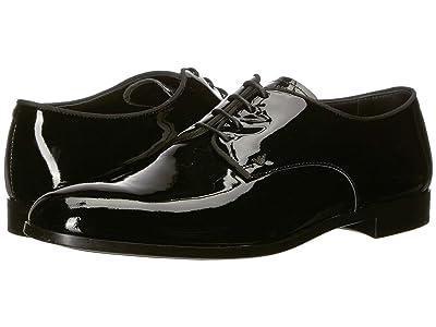 Emporio Armani Patent Formal Derby (Black) Men