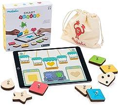 Marbotic - Smart Shapes pour iPad - Age : 3 Ans et Plus - Formes & Couleurs Interactives en Bois - Jeux Éducatifs Manuels...
