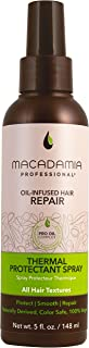 Macadamia Professional Hair Care Sulfate & Paraben Free Natural Organic Cruelty-Free Vegan Hair Products Thermal Protectant Hair Spray - 5 oz. All Hair Textures - Protection up to 450°F