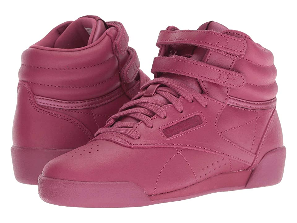 Reebok Kids Freestyle Hi (Little Kid) (Twisted Berry) Girl