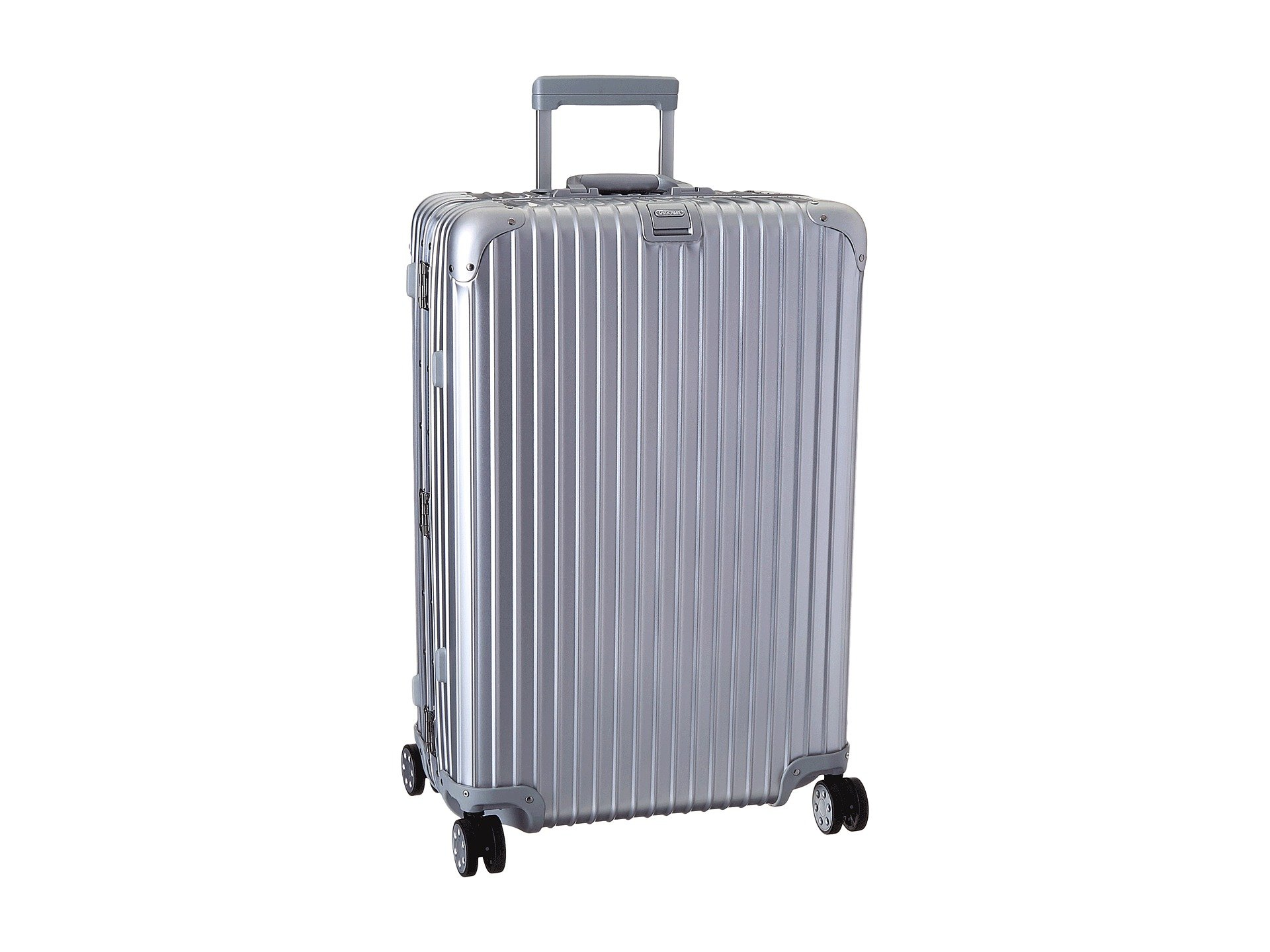 bags men metallic cabin in gallery for cabins silver multiwheel rimowa topas lyst