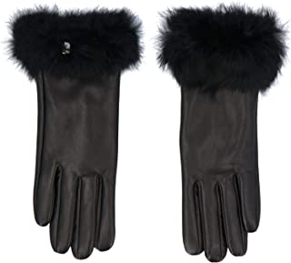 Luxury Fashion   Liu Jo Womens 369092P015022222 Black Gloves   Fall Winter 19