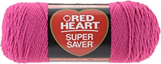 Red Heart Super Saver Yarn - Shocking Pink (Pack of 3)