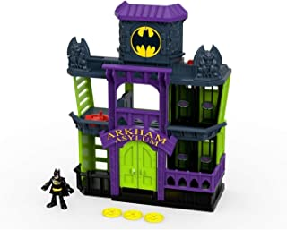 Imaginext Dc Superfriends - Asilo Arkham - Fdx24 - Fdx24 Fisher Price Várias
