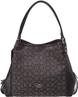 Coach Women's Edie 31 Signature Shoulder Bag