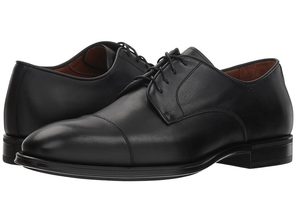 Aquatalia Derek (Black Dress Calf) Men