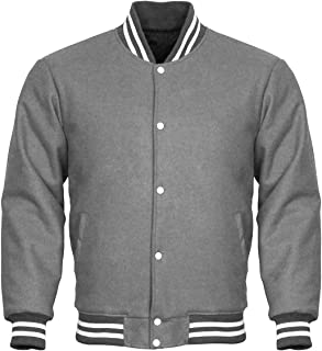 Letterman Varsity Jacket Cotton Fleece