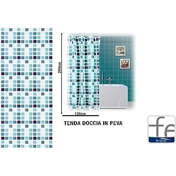 Gedy Tenda Doccia in Pvc CO21820030-Mosaico 180 X 200 Promo