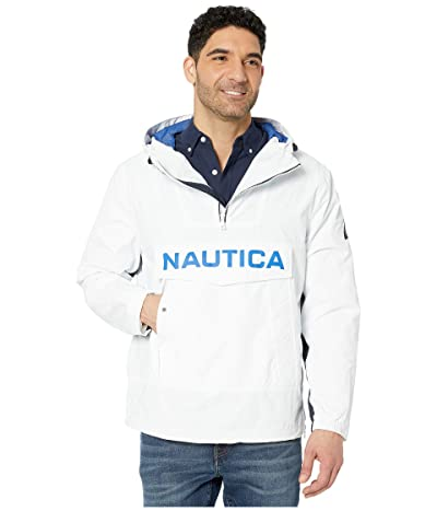 Nautica Hooded Outerwear (White) Men