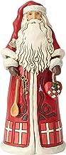 Enesco Jim Shore Heartwood Creek Danish Santa Around The World Figurine, 7