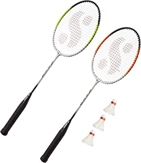 RPM Sports Combo Badminton Set (Colour by Assorted)